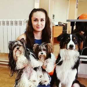 Софья Сергеева – дрессировка собак в Иркутске