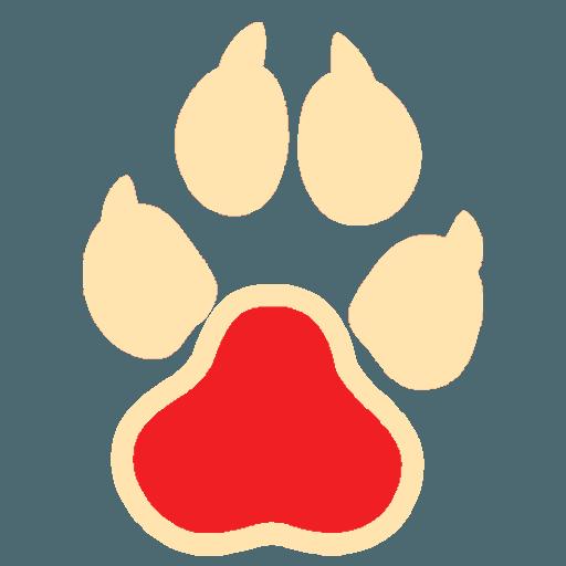 Иконка собачьей лапы