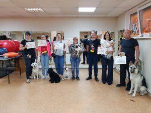 Выпуск группы по дрессировке собак в Иркутске за Август 2019