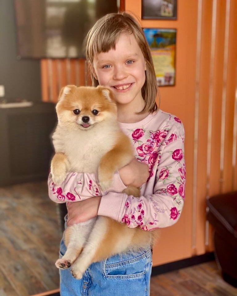Как же прекрасно, когда с детства ребёнку прививают любовь к животным  Вот таки...