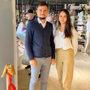 Евгений Фаттахов и Софья Сергеева